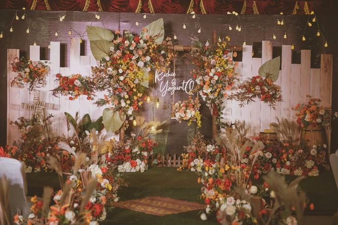 小场地的定制婚礼也可以美美的,给备婚小伙伴的参考