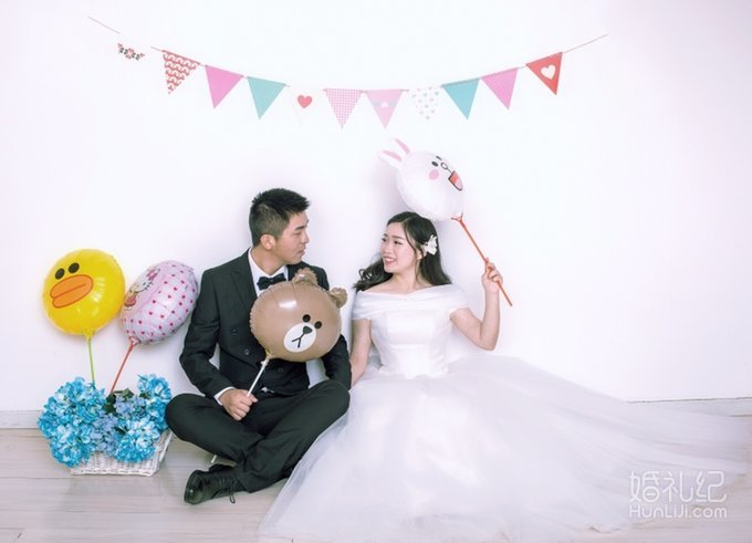 婚纱照,哪个动作你觉得最甜