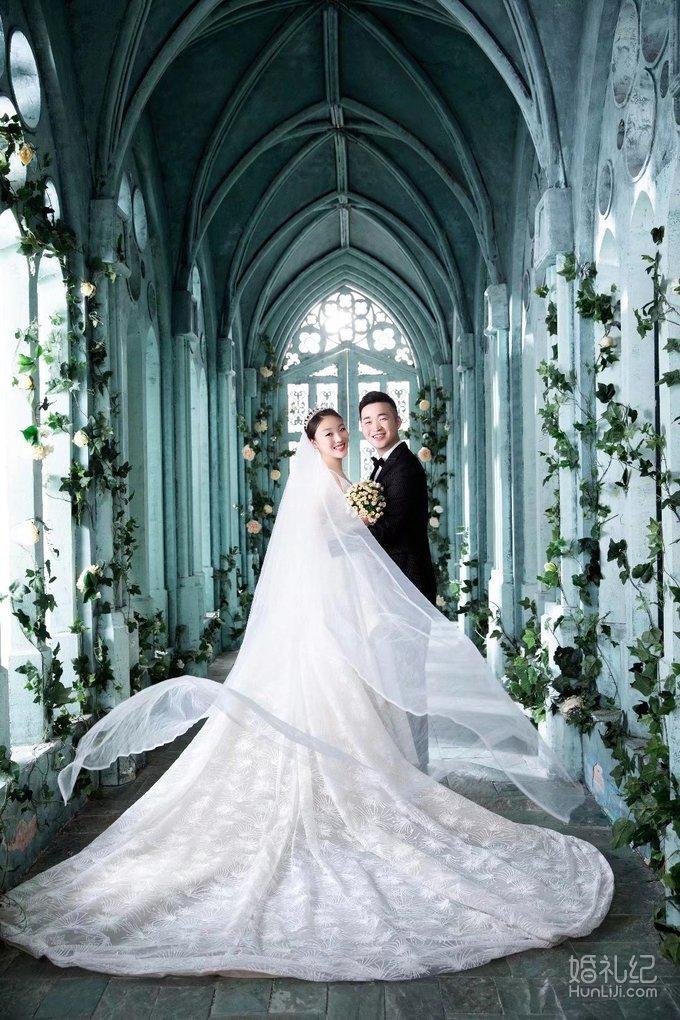 体重巅峰期拍的结婚照