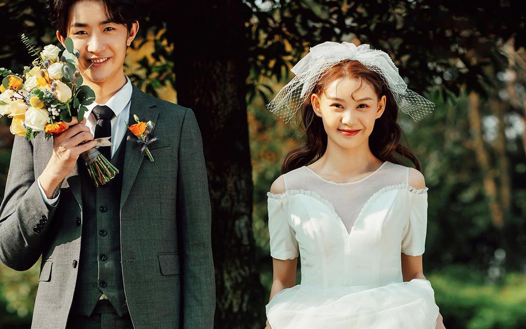 纪实风●森系婚纱照定制拍照