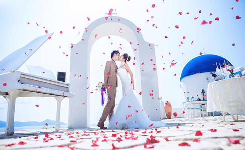 婚礼布置现场图片唯美
