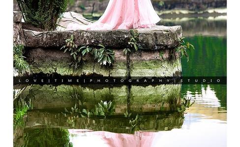 韩式新娘婚纱照