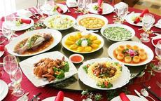 中式婚宴菜单大全