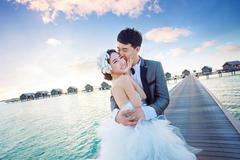 马尔代夫拍婚纱照大概什么价位