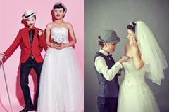 男女反串婚纱照好看吗