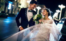 个性狂野婚纱照怎么拍