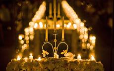 烛光婚礼如何布置及注意事项