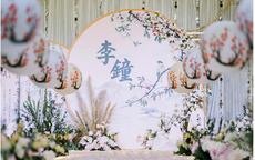 中式婚礼背景墙怎么布置