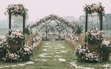 草坪婚礼场地布置技巧