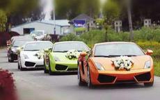 安徽婚车价格一览表