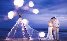夜景婚纱照怎么拍