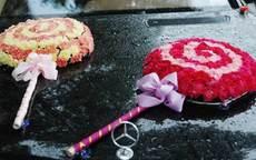 棒棒糖婚车怎么布置
