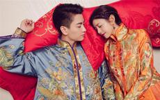 明星们的中式结婚礼服大盘点