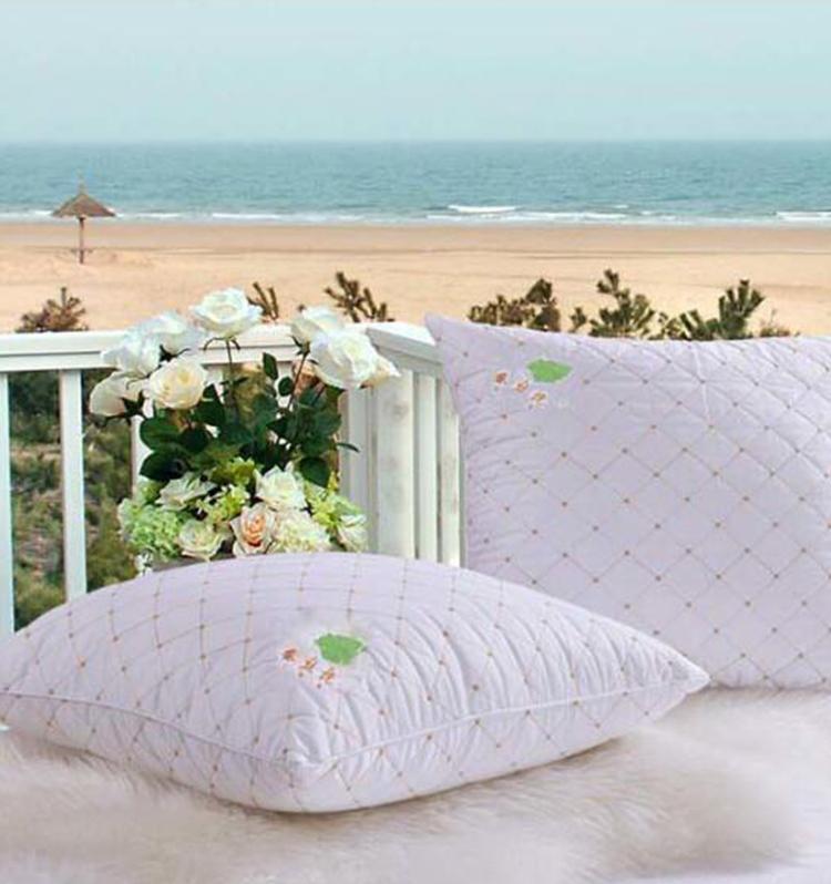 【一对装】婚嫁必备蚕丝靠垫方枕