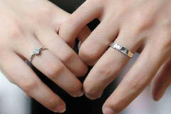 戒指戴在无名指上是什么意思