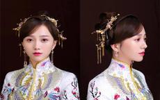 秀禾新娘发型图片及步骤