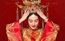 中式婚纱照图片2019