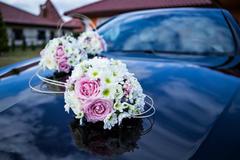 婚车头车怎么装饰好看