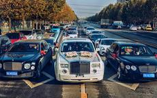 上海婚车一般用几辆 4辆可以吗