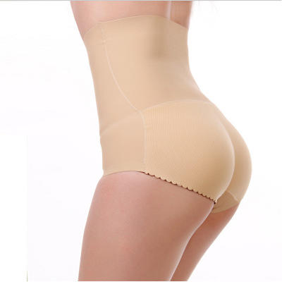 一片式无痕女式提臀收腹加厚高腰内裤