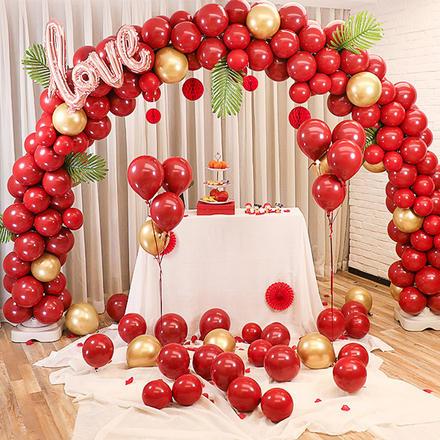 婚宴布置拱门气球套装