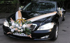 婚车装饰图片一览,小清新婚车怎么装饰