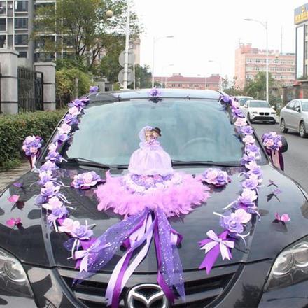 婚车装饰韩式情侣组合