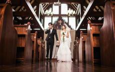 婚礼教堂的宣誓英文