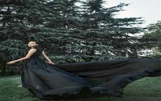 黑婚纱图片及含义 各种颜色的婚纱寓意