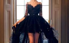 黑色婚纱图片欣赏 黑色婚纱的寓意是什么