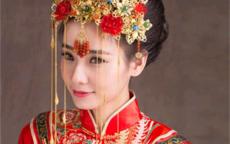 中式新娘妆图片及画法
