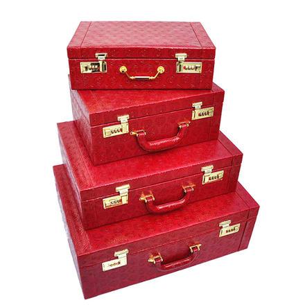 中国风复古传统陪嫁手提箱