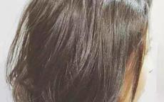 短头发拍婚纱照染啥颜色好看
