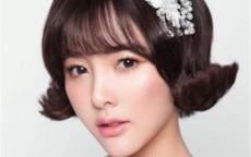 短发韩式婚纱照片欣赏 韩式短发婚纱照的拍摄技巧