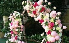 结婚气球拱门制作方法