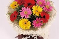 男朋友过生日送什么花