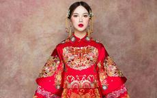 结婚衣服之红色孕妇装