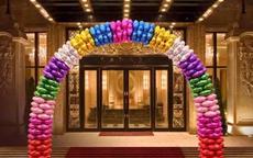 婚庆拱门扎花怎么扎 教你制作婚房大门的拱门