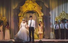 祝福新人结婚的话真诚版