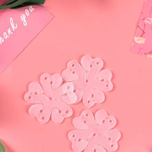 【10个装】花朵气球造型梅花扣