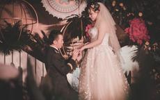 婚礼上浪漫感人爱情誓言短句