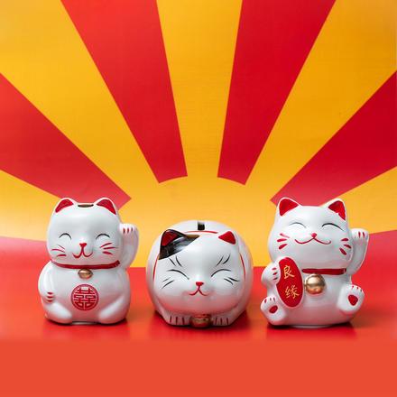 招财猫系列陶瓷伴手礼