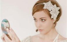 短发新娘婚纱照怎么拍好看