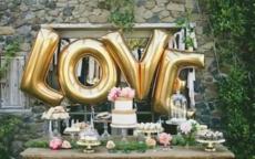 婚礼上最有创意的气球装饰用法都在这里了!
