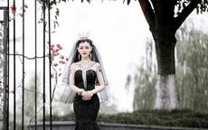 结婚穿黑婚纱是什么意思