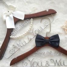 艺术字婚纱衣架定制四色创意礼物