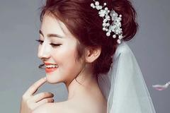 韩式唯美新娘发型图片及教程
