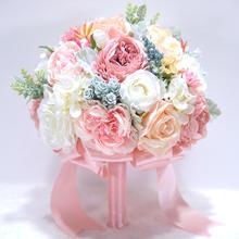 格陵兰牡丹芙蓉新娘手捧花
