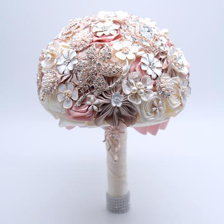 公主的芭蕾新娘手捧花