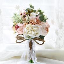 北欧浪漫物语新娘手捧花